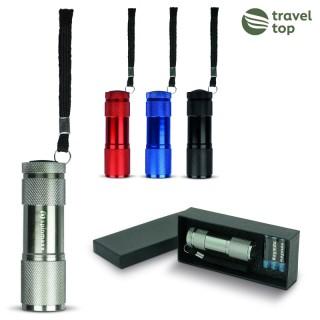 Aluminium LED-Taschenlampe inkl. Geschenkverpackung (ab 25 Stück)
