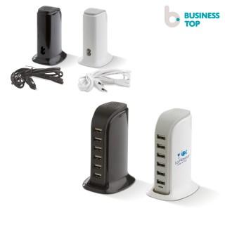 USB Powerstation 6 Ports (ab 25 Stück)