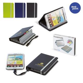 Powerbank Notebook 4000mAh (ab 25 Stück)