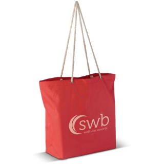 Strandtasche aus Polyester (ab 100 Stück)