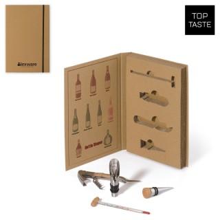 Wein Set mit 4 Wein Accessoires (ab 10 Stück)