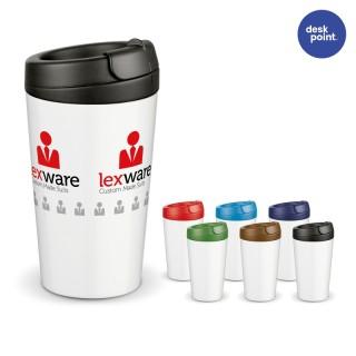 Doppelwandiger Coffee to go Kunststoff (ab 50 Stück)