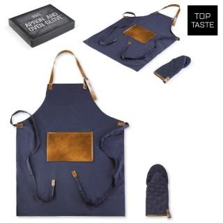 BBQ-Schürze und Handschuh (ab 10 Stück)