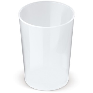 Eco Mehrwegbecher 250ml Biomaterial 100 % recycelbar (ab 100 Stück)