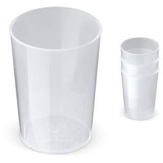 Eco Mehrwegbecher 250ml PP 100 % recycelbar (ab 100 Stück)