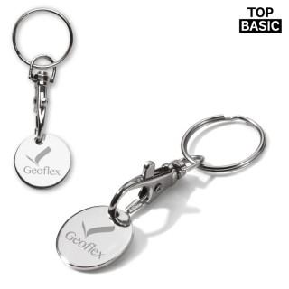 Schlüsselanhänger mit Einkaufswagenchip (ab 300 Stück)