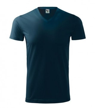 Unisex T-Shirt Heavy V-Neck farbig (ab 50 Stück)