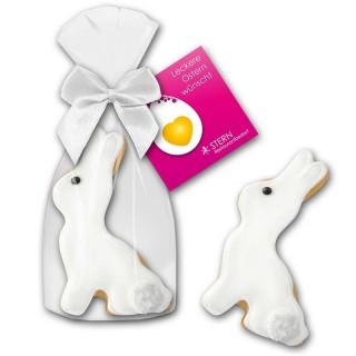 Cookie Hase Keks mit Karte als Werbeartikel zu Ostern bedrucken