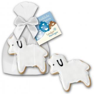 Cookie Lamm Keks bedrucken als Werbeartikel