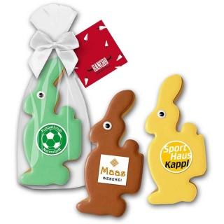 Cookie Hase Keks mit Logo bedrucken als Werbegeschenk