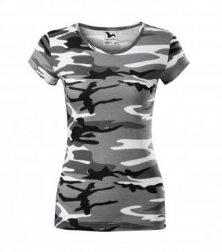 Damen T-Shirt Pure Camouflage (ab 50 Stück)