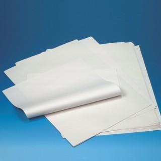Einschlagpapiere ohne Druck, Cellulose 50 x 37,5 cm weiss 1/4 Bogen (ab 20 kg)