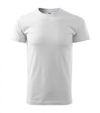 Herren T-Shirt Basic weiß (ab 50 Stück)