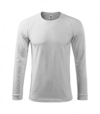Herren T-Shirt Street LS weiß (ab 50 Stück)