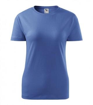 Damen T-Shirt Basic farbig (ab 50 Stück)