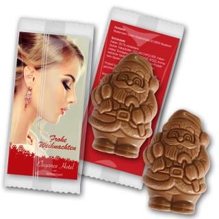 Weihnachtsmann Schokolade individuell (ab 150 Stück)