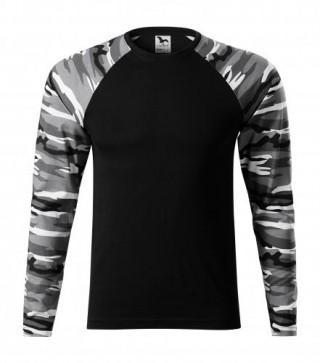 Unisex T-Shirt Camouflage LS (ab 50 Stück)