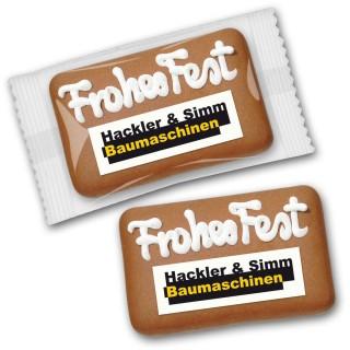 Lebkuchen - Card mit Logo (ab 250 Stück)