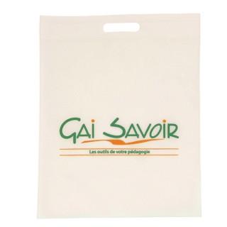 Non Woven Tasche, Griff gestanzt (ab 100 Stk.)