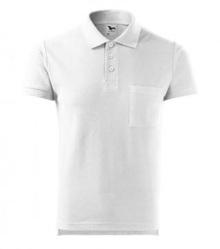 Herren Polohemd Cotton weiß (ab 50 Stück)