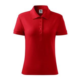 Damen Polohemd Cotton Heavy farbig (ab 50 Stück)