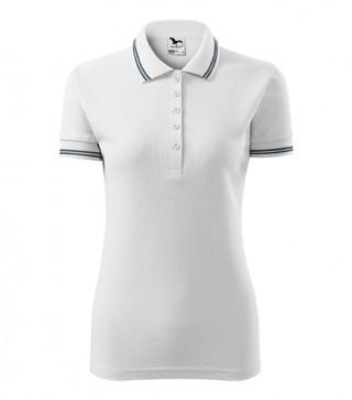 Damen Polohemd Urban weiß (ab 50 Stück)