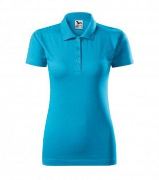 Damen Polohemd Single J. farbig (ab 50 Stück)