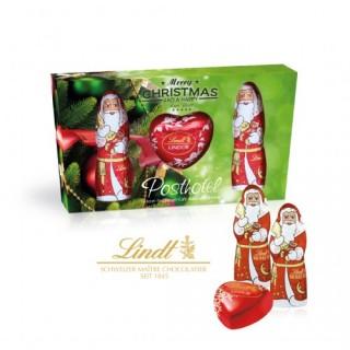 Lindt Präsent-Set Weihnachtsmann (ab 100 Stück)