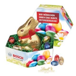 Häschen im Nest zu Ostern als Werbeartikel