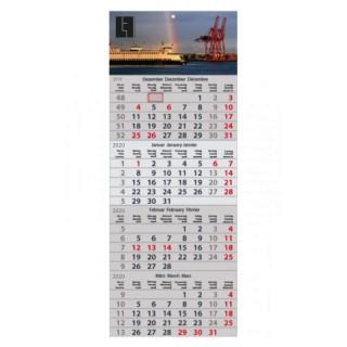 Express Wandkalender mit 4-Monats-Vorschau bedrucken, Abbildung ähnlich