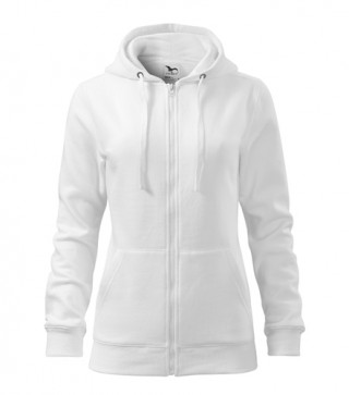 Damen Sweatshirt Trendy Zipper (ab 50 Stück)