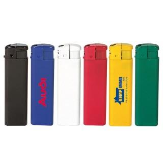 Flaches elektrisches Feuerzeug als Werbeartikel mit eigenem Logo bedrucken