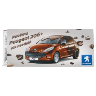 Schokoladentafel 50 gr. (ab 500 Stück)