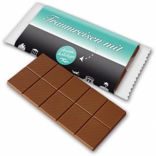 Werbeschokolade bedrucken