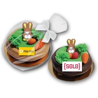 Osternest mit Häschen als Baumkuchenring 120g