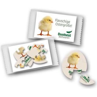 Puzzle für Ostern Werbegeschenk Oblate bedrucken