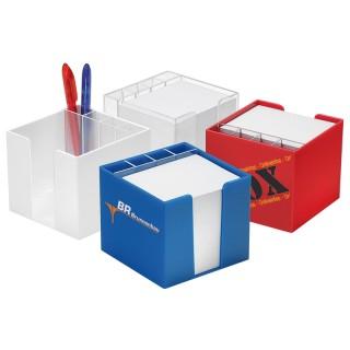 Zettelbox mit Köcher 'classic' (ab 100 Stück)