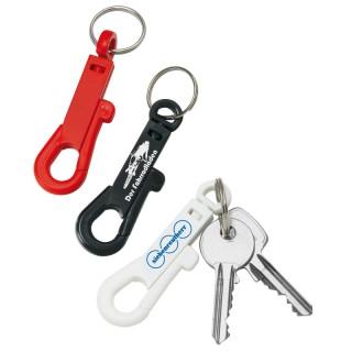 Karabinerhaken-Schlüsselanhänger (ab 100 Stück)