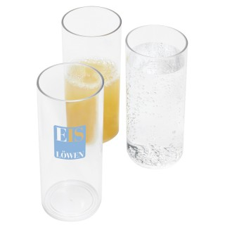 Kunststoff-Longdrinkglas 0,3 l (ab 100 Stück)
