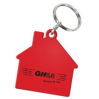 Schlüsselanhänger Haus (ab 100 Stück)