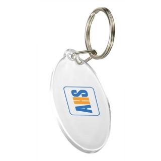 Schlüsselanhänger Oval (ab 100 Stück)