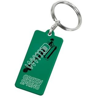 Schlüsselanhänger Rechteck (ab 100 Stück)