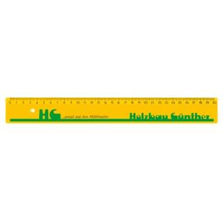 Lineal 30 cm breit (ab 100 Stück)