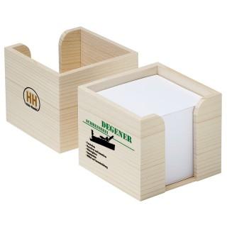 Zettelbox aus Holz (ab 100 Stück)