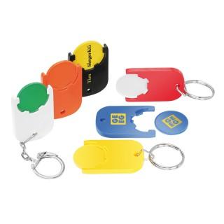Chiphalter mit €-Chip (ab 100 Stück)