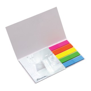 BIC Haftnotizblock 75 x 75 mm Flag Booklet (ab 250 Stück)
