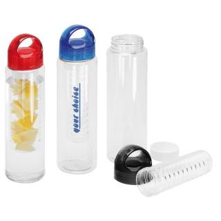 Trinkflasche mit Fruchteinsatz (ab 100 Stück)