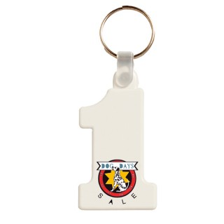 Plastik Schlüsselanhänger Nr. 1 (ab 100 Stück)