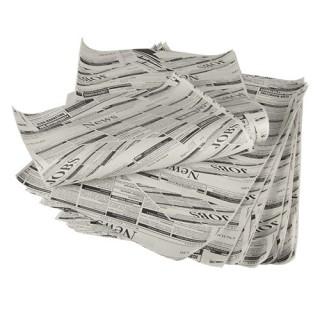 """Einschlagpapiere ohne Druck, Pergamentersatz 35 x 25 cm """"Newsprint"""" fettdicht (ab 10 kg)"""