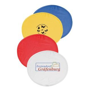 Frisbee Flugscheibe mit Tasche (ab 100 Stück)